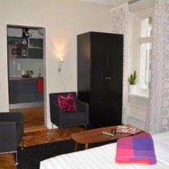 Отель Design Apartments Швеция, Гётеборг - отзывы, цены и фото номеров - забронировать отель Design Apartments онлайн комната для гостей фото 2