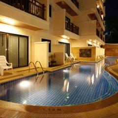 Отель Jiraporn Hill Resort Пхукет бассейн