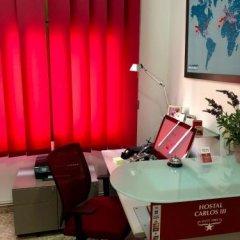 Отель Pensión Carlos Iii Эль-Прат-де-Льобрегат интерьер отеля