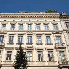 Отель Stadtbleibe Apartments Германия, Лейпциг - отзывы, цены и фото номеров - забронировать отель Stadtbleibe Apartments онлайн вид на фасад