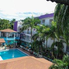 Отель Gloriana Hotel Ямайка, Монтего-Бей - отзывы, цены и фото номеров - забронировать отель Gloriana Hotel онлайн бассейн фото 2