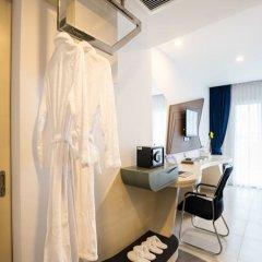 Отель Blue Boat Design Hotel Таиланд, Паттайя - отзывы, цены и фото номеров - забронировать отель Blue Boat Design Hotel онлайн удобства в номере фото 2