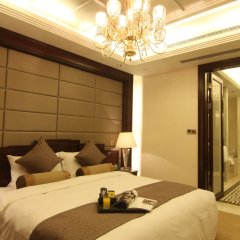 Отель Tang Dynasty West Market Hotel Xian Китай, Сиань - отзывы, цены и фото номеров - забронировать отель Tang Dynasty West Market Hotel Xian онлайн комната для гостей фото 4