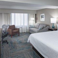 Отель Hampton Inn Gateway Arch Downtown комната для гостей фото 4