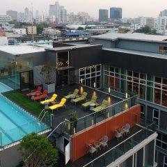 Отель Le D'Tel Bangkok Бангкок балкон