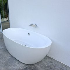 Отель Jungle Livin at D2 Villas Таиланд, Самуи - отзывы, цены и фото номеров - забронировать отель Jungle Livin at D2 Villas онлайн ванная
