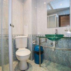 Отель Perun Hotel Болгария, Сандански - отзывы, цены и фото номеров - забронировать отель Perun Hotel онлайн ванная