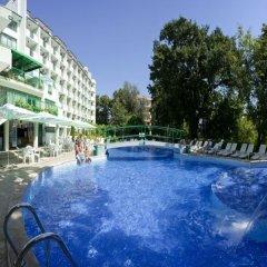 Отель Zdravets Hotel - All inclusive Болгария, Золотые пески - отзывы, цены и фото номеров - забронировать отель Zdravets Hotel - All inclusive онлайн бассейн фото 2