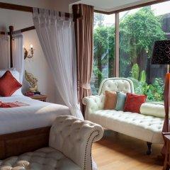 Отель Tango Luxe Beach Villa Samui Таиланд, Самуи - 1 отзыв об отеле, цены и фото номеров - забронировать отель Tango Luxe Beach Villa Samui онлайн комната для гостей фото 2