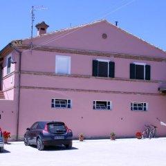 Отель La Locanda Del Musone Кастельфидардо парковка