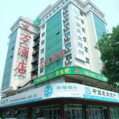 Отель Wangfujing Da Wan Hotel Китай, Пекин - отзывы, цены и фото номеров - забронировать отель Wangfujing Da Wan Hotel онлайн вид на фасад