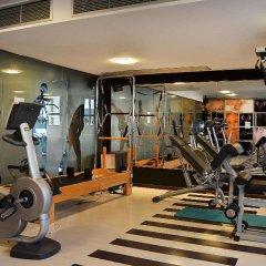 Отель Melia Valencia Валенсия фитнесс-зал