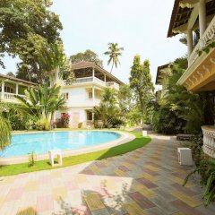 Отель GuestHouser 3 BHK Villa 338d Гоа бассейн фото 3
