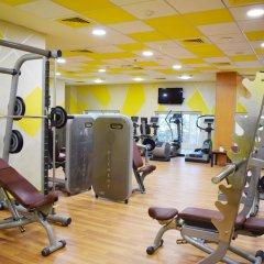 Отель TIME Ruby Hotel Apartments ОАЭ, Шарджа - 1 отзыв об отеле, цены и фото номеров - забронировать отель TIME Ruby Hotel Apartments онлайн фитнесс-зал фото 4