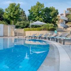 Отель NH Roma Villa Carpegna бассейн