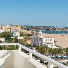 Отель Avenida Praia Португалия, Портимао - отзывы, цены и фото номеров - забронировать отель Avenida Praia онлайн балкон