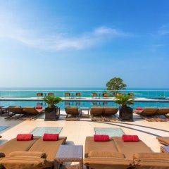 Отель Centara Grand Phratamnak Pattaya пляж фото 2
