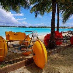 Отель The St Regis Bora Bora Resort Французская Полинезия, Бора-Бора - отзывы, цены и фото номеров - забронировать отель The St Regis Bora Bora Resort онлайн приотельная территория