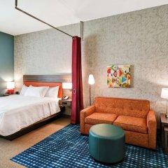 Отель Home2 Suites by Hilton Columbus Downtown США, Колумбус - отзывы, цены и фото номеров - забронировать отель Home2 Suites by Hilton Columbus Downtown онлайн комната для гостей фото 4
