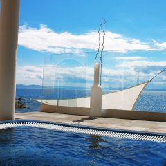 Отель Vistabella Испания, Курорт Росес - отзывы, цены и фото номеров - забронировать отель Vistabella онлайн бассейн фото 2