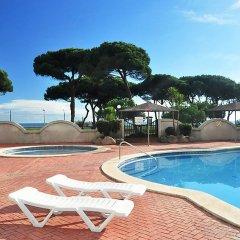 Отель Blanes Beach Испания, Бланес - отзывы, цены и фото номеров - забронировать отель Blanes Beach онлайн бассейн