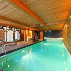 Отель Les Cèdres Нендаз бассейн фото 3