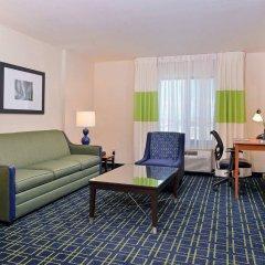 Отель Fairfield Inn And Suites By Marriott Columbus West Колумбус комната для гостей