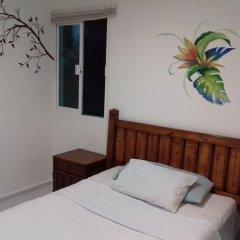 Отель Hostel Punta Sam Мексика, Плайя-Мухерес - отзывы, цены и фото номеров - забронировать отель Hostel Punta Sam онлайн комната для гостей фото 2