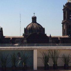 Отель Mexiqui Zocalo Мексика, Мехико - отзывы, цены и фото номеров - забронировать отель Mexiqui Zocalo онлайн балкон
