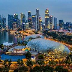 Отель PARKROYAL COLLECTION Marina Bay Сингапур приотельная территория фото 2