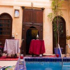Отель Riad Riva Марокко, Марракеш - отзывы, цены и фото номеров - забронировать отель Riad Riva онлайн бассейн