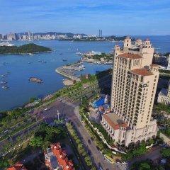 Отель Wyndham Grand Xiamen Haicang Китай, Сямынь - отзывы, цены и фото номеров - забронировать отель Wyndham Grand Xiamen Haicang онлайн пляж