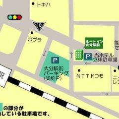 Отель Route-Inn Oita Ekimae Ойта городской автобус