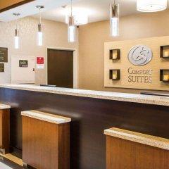 Отель Comfort Suites Columbus West - Hilliard США, Колумбус - отзывы, цены и фото номеров - забронировать отель Comfort Suites Columbus West - Hilliard онлайн интерьер отеля
