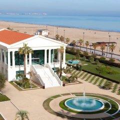 Отель Las Arenas Balneario Resort Испания, Валенсия - 1 отзыв об отеле, цены и фото номеров - забронировать отель Las Arenas Balneario Resort онлайн пляж фото 2