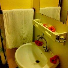 Отель Village Temanuata Французская Полинезия, Бора-Бора - отзывы, цены и фото номеров - забронировать отель Village Temanuata онлайн ванная