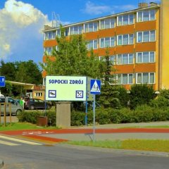 Отель Dom Wypoczynkowy Sopocki Zdrój парковка