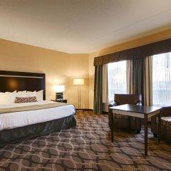 Отель Best Western Plus Travel Hotel Toronto Airport Канада, Торонто - отзывы, цены и фото номеров - забронировать отель Best Western Plus Travel Hotel Toronto Airport онлайн комната для гостей фото 5