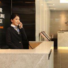 Отель SKYPARK Myeongdong II Южная Корея, Сеул - 1 отзыв об отеле, цены и фото номеров - забронировать отель SKYPARK Myeongdong II онлайн интерьер отеля