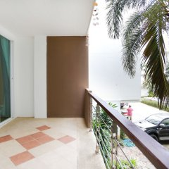 Отель KM Condo Seaside балкон