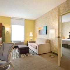 Отель Home2 Suites by Hilton Minneapolis Bloomington США, Блумингтон - отзывы, цены и фото номеров - забронировать отель Home2 Suites by Hilton Minneapolis Bloomington онлайн комната для гостей фото 2