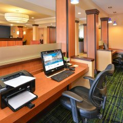 Отель Fairfield Inn And Suites By Marriott Columbus West Колумбус интерьер отеля