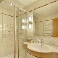 Отель Kriemhild am Hirschgarten Германия, Мюнхен - отзывы, цены и фото номеров - забронировать отель Kriemhild am Hirschgarten онлайн ванная фото 2