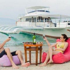 Отель Marco Vincent Dive Resort пляж