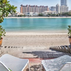 Отель Dream Inn Dubai - Royal Palm Beach Villa пляж фото 2