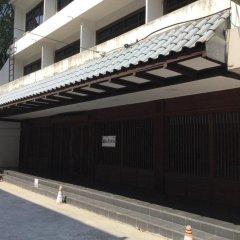 Kashiwaya Ryokan Thai Hotel Бангкок парковка