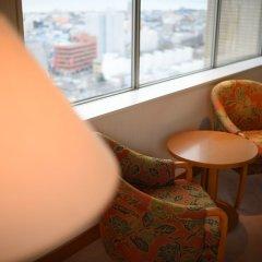 Отель Grand Hotel New Oji Япония, Томакомай - отзывы, цены и фото номеров - забронировать отель Grand Hotel New Oji онлайн балкон