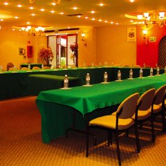 Hotel Cervantes Гвадалахара помещение для мероприятий