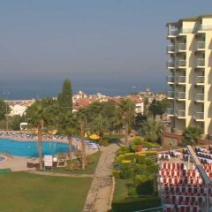 Отель Royal Palace Kusadasi пляж фото 2