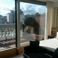 Отель Gran Hotel Sardinero Испания, Сантандер - отзывы, цены и фото номеров - забронировать отель Gran Hotel Sardinero онлайн балкон